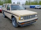 Lot #1311805675 1982 CHEVROLET S TRUCK S1 salvage car