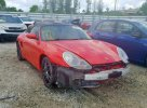 Lot #1323942895 2004 PORSCHE BOXSTER salvage car