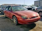 Lot #1376225890 1999 FORD TAURUS LX salvage car