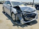 Lot #1387244100 2015 HYUNDAI SONATA HYB salvage car
