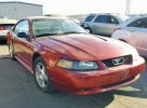 Lot #1389712105 2004 FORD MUSTANG salvage car