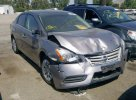 Lot #1389713382 2015 NISSAN SENTRA S salvage car
