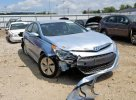 Lot #1389753660 2015 HYUNDAI SONATA HYB salvage car