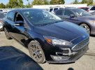 Lot #1391239845 2018 FORD FOCUS SEL salvage car