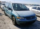 Lot #1424544668 1999 PLYMOUTH VOYAGER salvage car