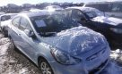 Lot #1435366598 2013 HYUNDAI ACCENT GLS/GS salvage car
