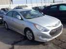 Lot #1467130510 2012 HYUNDAI SONATA HYB salvage car