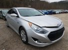 Lot #1468959112 2012 HYUNDAI SONATA HYB salvage car