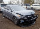 Lot #1472774265 2017 HYUNDAI SONATA HYB salvage car