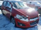 Lot #1477054620 2012 CHEVROLET SONIC LT salvage car