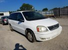 Lot #1560641860 2007 FORD FREESTAR S salvage car