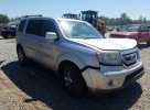 Lot #1561097800 2010 HONDA PILOT TOUR salvage car