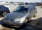 Lot #1640107008 2004 HONDA CIVIC EX