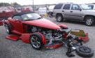 Lot #1320641366 1999 PLYMOUTH PROWLER salvage car