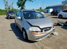 Lot #1436854683 2005 CHEVROLET AVEO LT salvage car