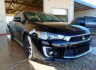 Lot #1467101179 2017 MITSUBISHI LANCER ES salvage car