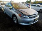 Lot #1468948136 2012 HONDA CIVIC LX salvage car