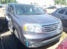 Lot #1528887436 2015 HONDA PILOT SE salvage car