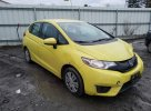 Lot #1546985363 2015 HONDA FIT LX salvage car