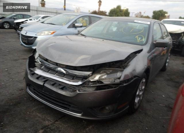 Lot #1639061313 2010 FORD FUSION SE salvage car