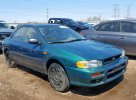 Lot #1319687617 1998 SUBARU IMPREZA L salvage car