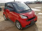 Lot #1355518164 2009 SMART FORTWO PAS salvage car