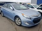 Lot #1391241131 2011 HYUNDAI SONATA HYB salvage car