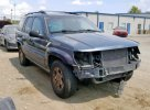 Lot #1392081767 2001 JEEP GRAND CHER salvage car