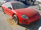 Lot #1473337987 2002 MITSUBISHI ECLIPSE GT salvage car